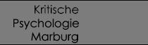 kritische psychologie Marburg