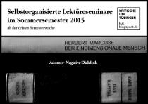 Lektüreseminare Marcuse, Marx & Adorno